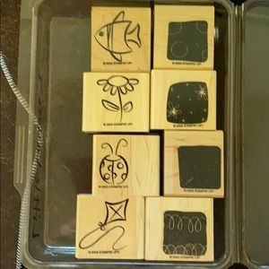 """2003 Stampin' Up! """"Little Layers I"""" 8 pc set"""